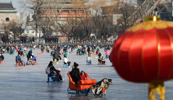 Beijing city advises residents to stay put during holiday