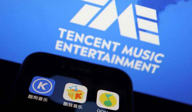 Warner Music signs deal with China's Tencent