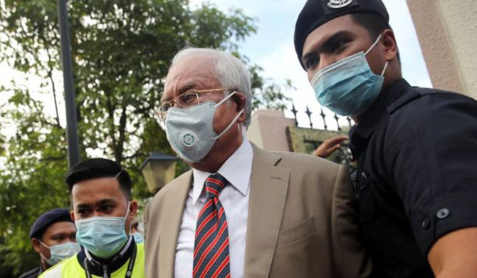 Fmr. Malaysian PM found guilty
