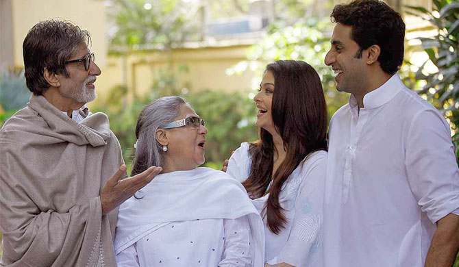 Abhi, Aish, Jaya start new projects - Big B says family 'busy on sets'