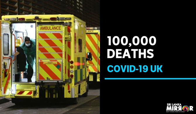 UK records 100,000 Covid-19 deaths